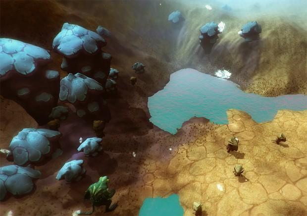 arid desert in-game screenshot