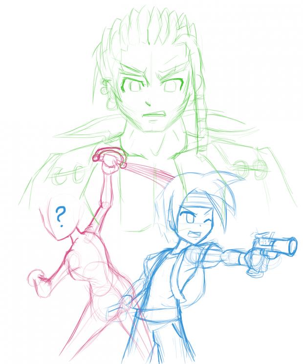 Random Concept sketches