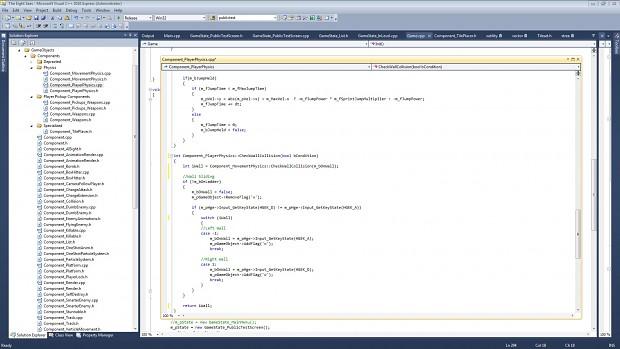 Screenshot of the VS Solution