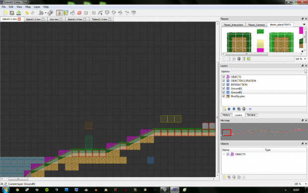 Working on levels