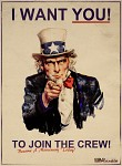 I Want You To Join The Crew!