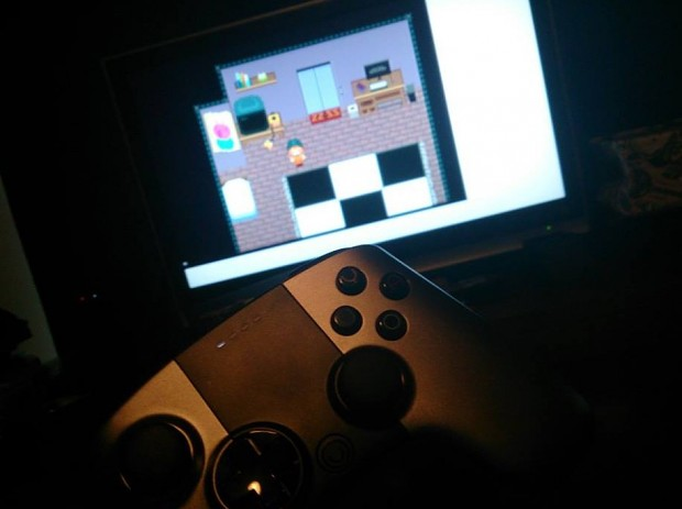 Working on ouya