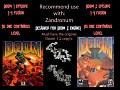 Doom 1 as 1 level, Doom 2 as 1 level