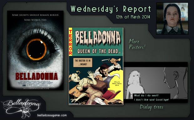 Wednesday's Report 12th of March