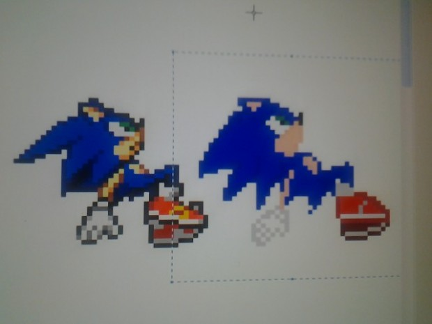 Screenshots of the Game Sonic Lost Quest