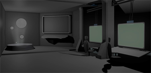 13th Moon, between levels screen concept