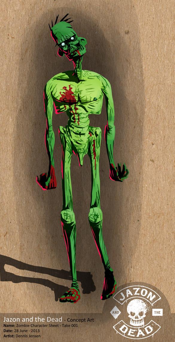 Zombie - Concept Art