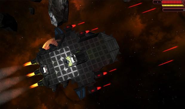 StellarBrink's New Game Engine - Laser Cannons