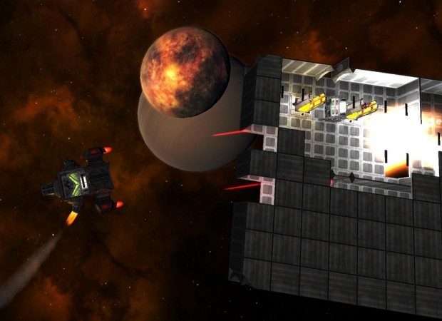 StellarBrink's New Game Engine - Starbase Destroy