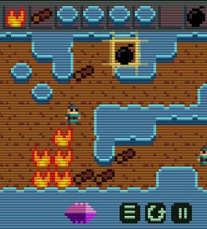 Fire spreading