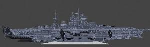 devastator class battleship
