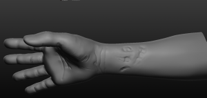 Hands work in progress