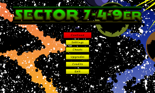 Sector 7-4-9er Menu (PC)