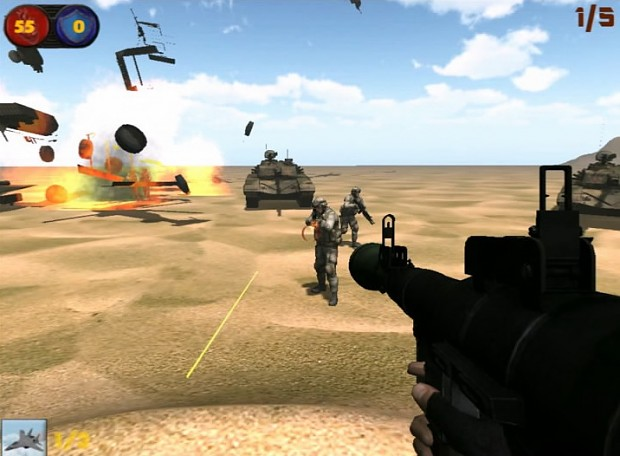 Images from the game
