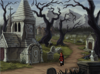 Quest For Infamu - Graveyard