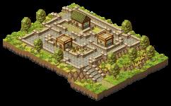 A market village on a hill