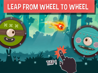 Leap From Wheel To Wheel