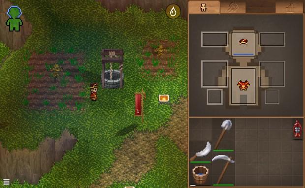 Placing scarecrows for farming