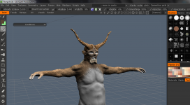 New enemy 3D model sculpting