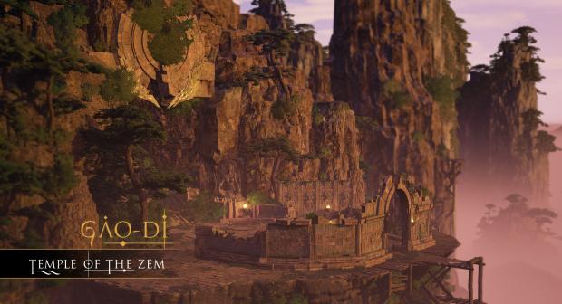 New Map: Gâo-di - Temple of the Zem