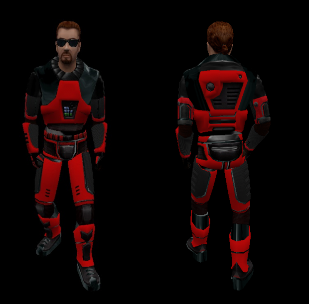 simple skin hev suit