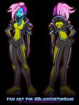Fan Art - Black Ice Heroine