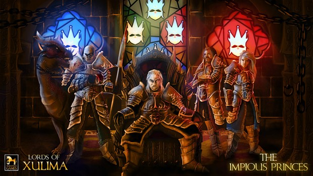 Lords of Xulima The Impious Princes