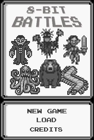 8-bit Battles title