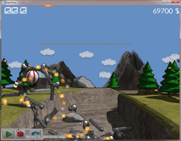 Screenshots from the current demo.