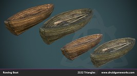 In-Game Asset: Row Boat