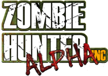 Zombie Hunter inc Alpha logo