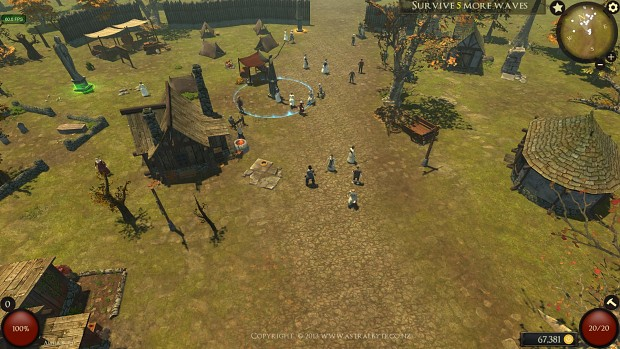 Busy village