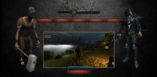 SUNNA - Homepage - Play Demo