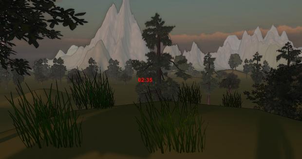 Screenshot of mountains