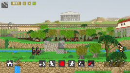 Super Roman Conquest Screens