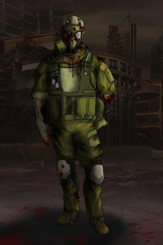 More Zombie Concept art