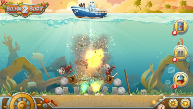 Boom Boat 2 Beta Screens