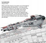 Sunrider - Design Sheet