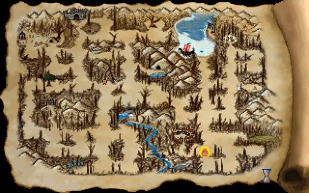 Heroine's Quest: Automap