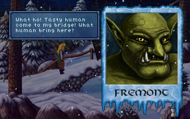 Heroine's Quest: Fremont the troll