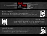 Credits screen introducing Wild Team!
