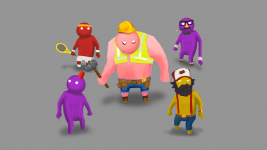 Gang Beasts Customisation Pre-viz #2