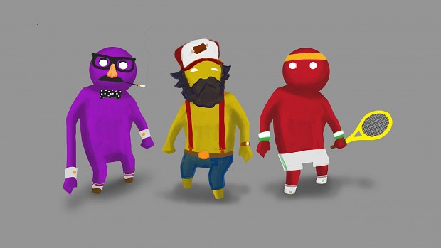 Gang Beasts Customisation Pre-viz #1
