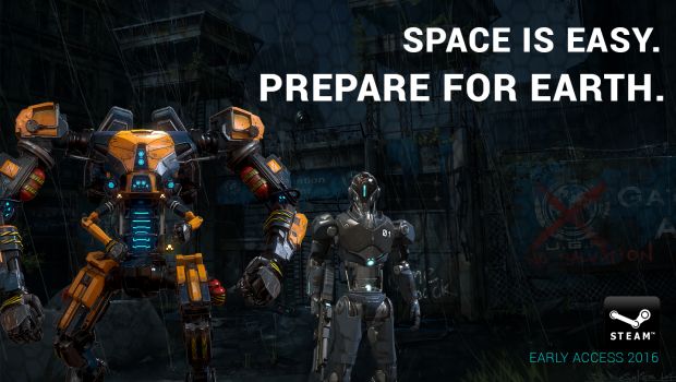 Beyond Flesh and Blood with fresh mech artwork - more to follow