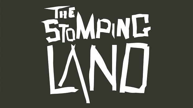 The Stomping Land Logo on Gray Background