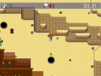 From the Canyon Mines level