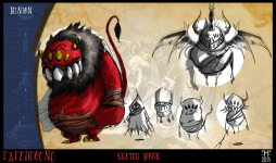 Minion Sketches and Concepts