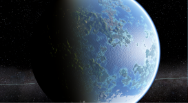 Planet with Normal Mapping