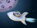 Deep Space: A Minimalistic Retro Game