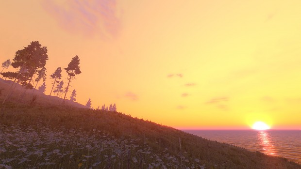Dx11 sunset - enjoy the view